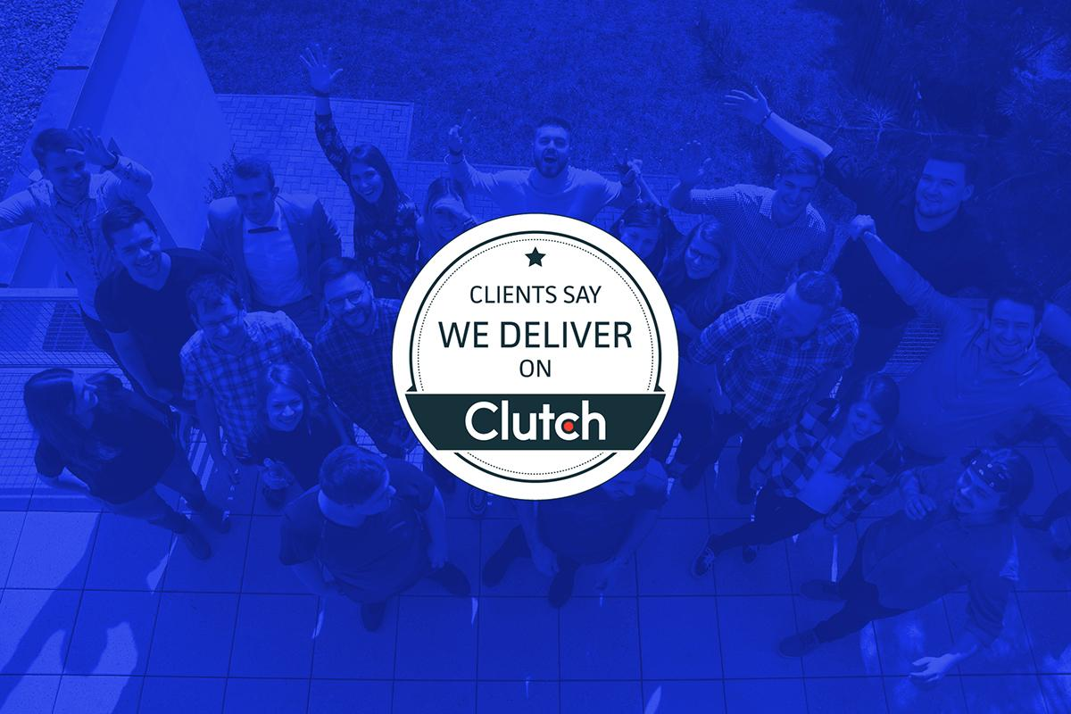 We are so grateful to all our clients for nice words and 5-stars ratings on Clutch.co!