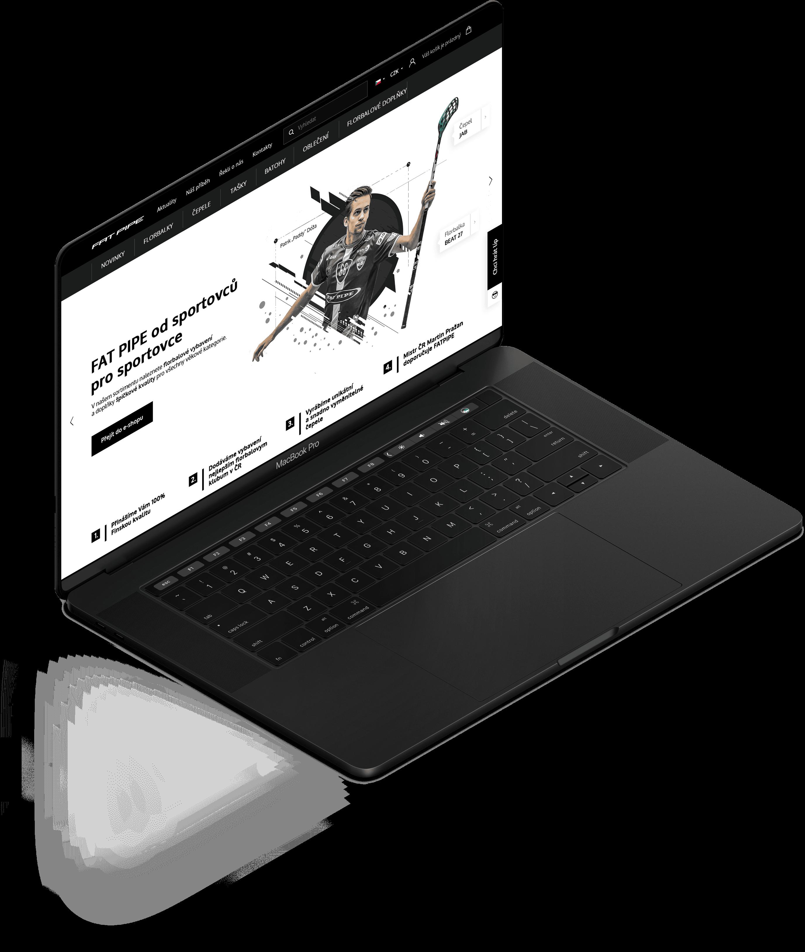 Webové stránky na míru a automatizace obchodních procesů pro Fatpipe